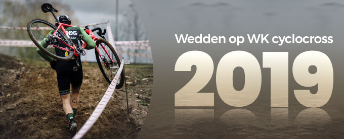 Betting odds WK cyclocross 2019