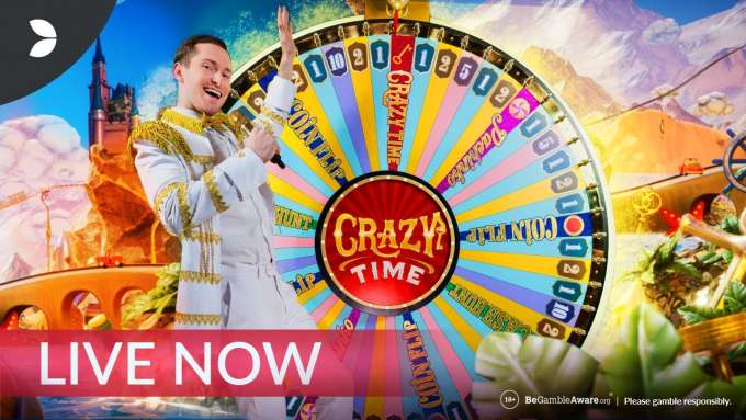 Crazy Time - The Most Fun Casino Game Ever | Evolution Gaming