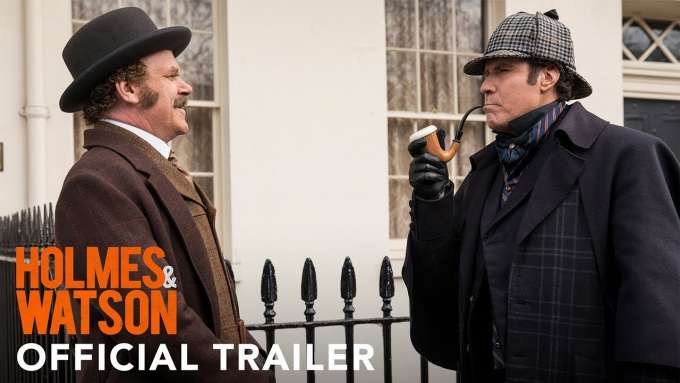 HOLMES AND WATSON - Official Trailer (HD)